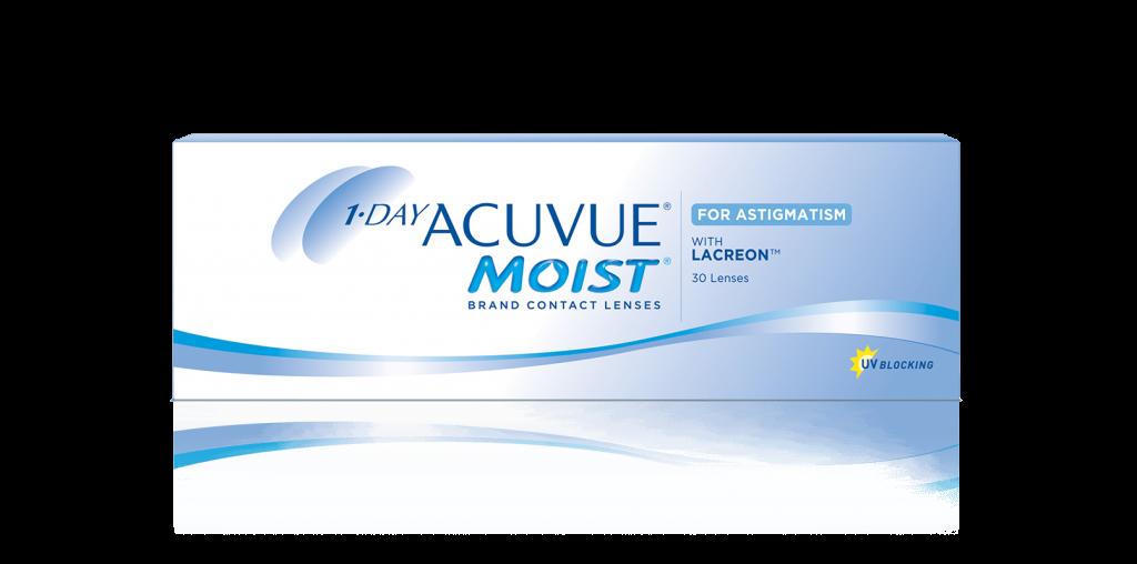 Lentes de contacto 1-DAY ACUVUE® MOIST para Astigmatismo 8859f34a27