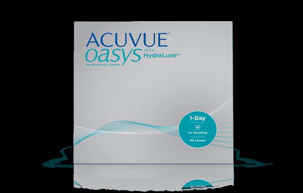 ACUVUE® OASYS® 1 día con TECNOLOGÍA  HydraLuxe™